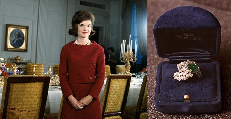 Jackie Kennedy Redesigned Her Engagement Ring