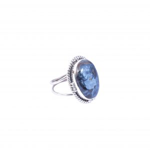 Natural Pietersite & Solid 925 Sterling Silver Gemstone Ring - R1014